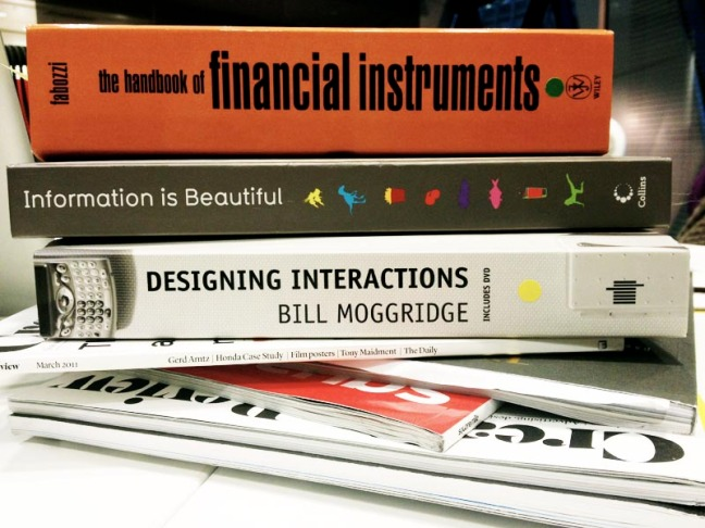 UX design & finance books